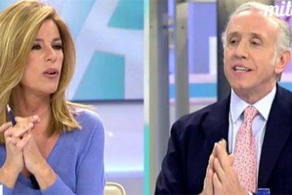 Inda acorrala a la cuota 'progre' del programa de Ana Rosa y arranca a Palomera una cruda confesión sobre Errejón