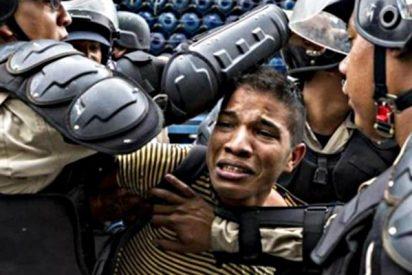 Toda la jauría de sicarios chavistas contra un solo estudiante