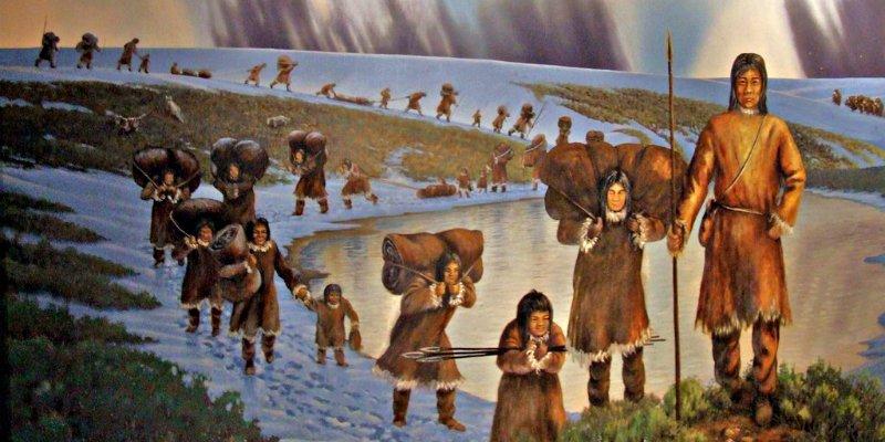 Los americanos de la Era de Hielo viajaban miles de kilómetros