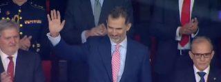 El mensaje secreto en la corbata de Felipe VI que deja fuera de juego a los 'indepes'