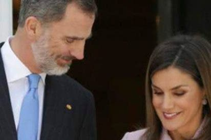 """Los Reyes de España, Felipe y Letizia desmienten su """"divorcio inminente"""""""