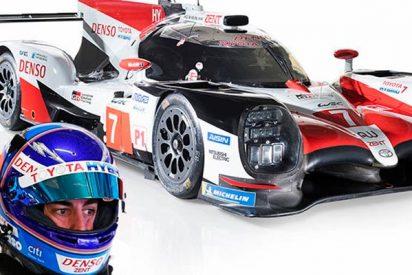 Fernando Alonso explorará los límites al volante del Toyota LMP1