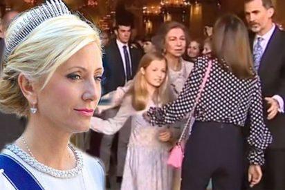Marie Chantal y la hija de Michael Douglas, el centro de todas las miradas en el desfile de Dolce & Gabbana