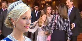 """El cabreo de la sobrina política de Doña Sofía con Letizia: """"Ha mostrado su verdadera cara"""""""