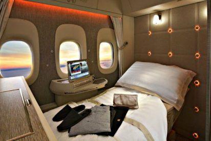Lujo en el avión: Así es la nueva suite cerrada, con ventanas virtuales y gravedad cero