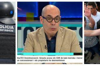 """Los tertulianos de TV3 salen en masa a defender a los batasunos: """"España necesita que haya violencia"""""""