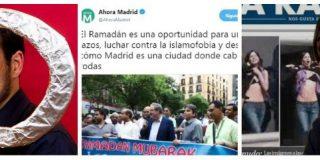 Los podemitas escupen sobre la Semana Santa pero no pierden ni un minuto en felicitar el Ramadán a los musulmanes