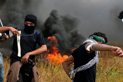 Israel usa gases lacrimógenos contra los palestinos