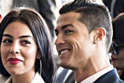Georgina Rodríguez posa con la ropa interior de su novio