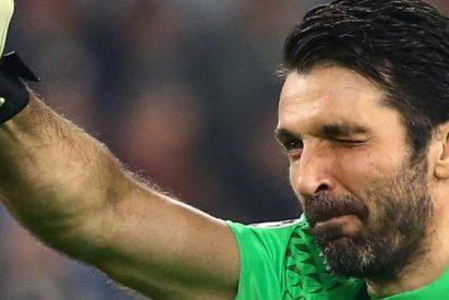Buffon sigue quedando mal con el penalti