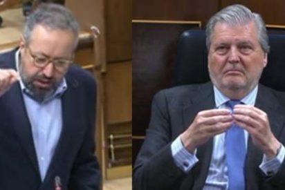 """Girauta y Méndez de Vigo, a navajazos: el 'popular' llama """"demagogo"""" al diputado de Ciudadanos"""