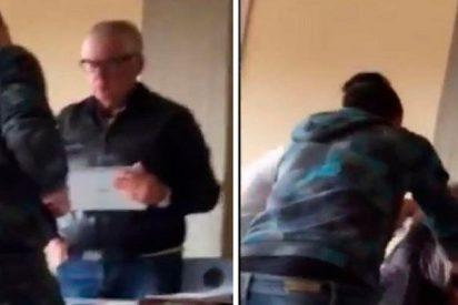 Así golpearon estos alumnos a su profesor de 64 años