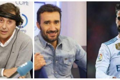 Paco González se pone 'corporativo' y sale bocazas en defensa de Castaño y contra el gran Isco y el Real Madrid