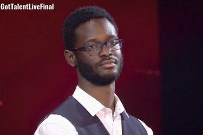 El poeta César Brandon, justo vencedor de'Got Talent'