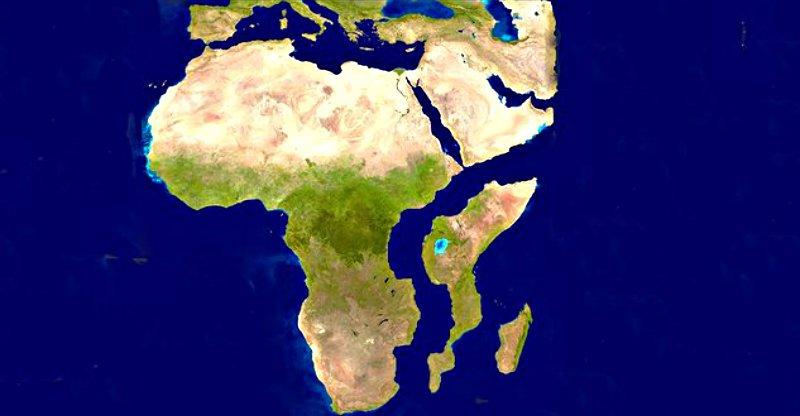 Planeta Tierra: Se abre en Kenia una grieta que está partiendo África en dos