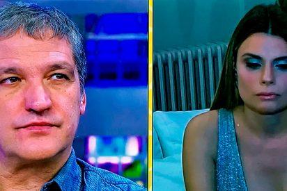 La mujer de Gustavo González estalla harta de la penosa situación en que la ponen el periodista y Lapiedra