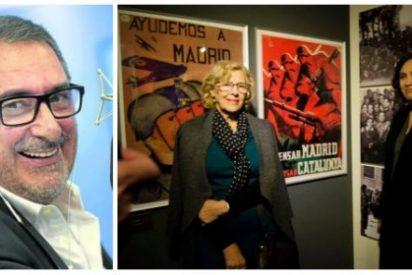 """Herrera 'fusila' a 'Nada' Colau y Carmena por su guerracivilismo: """"Son unas Nancys lloronas y fanáticas"""""""