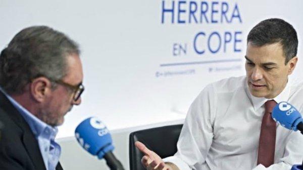 """Carlos Herrera se harta, llama """"cuervo"""" a Pedro Sánchez y pone a hervir Ferraz"""