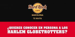 El próximo miércoles 25 de Abril a las 19.00h. tendrá lugar la presentación de los HARLEM GLOBETROTTERS en el HARD ROCK CAFE de Plaza Catalunya, Barcelona