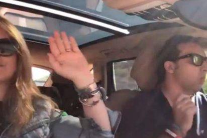 No te creerás cómo celebran Iker Jiménez y Carmen Porter la llegada de la primavera en un coche
