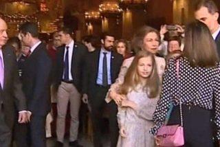 El rapapolvo del rey Felipe a Letizia tras su desplante en la catedral de Palma