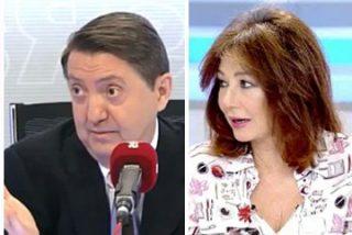 Palomera, que quiere repartir títulos de periodismo, ataca a Losantos y se lleva la reprimenda de Ana Rosa e Inda