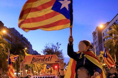 Los independentistas protestan en las calles de Cataluña por la detención de sus activistas radicales