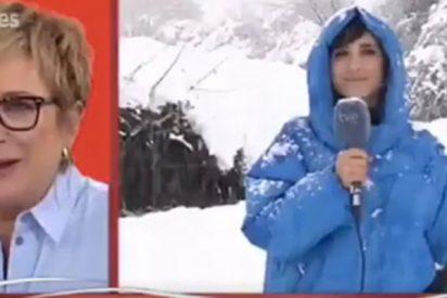 Le cambia el nombre a Inés Ballester; ¿sería el frío?