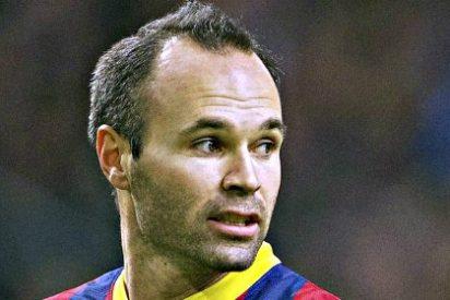 La revista 'France Football' pide perdón humildemente a Andrés Iniesta