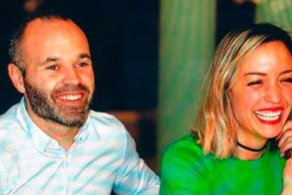 La emotiva carta de la mujer de Andrés Iniesta, en la despedida del jugador del F.C. Barcelona