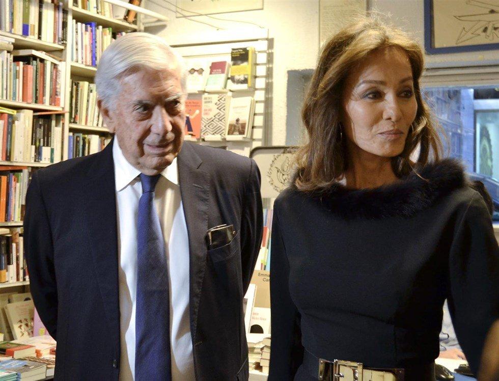 Isabel Preysler y Vargas Llosa se despiden de la Semana Santa
