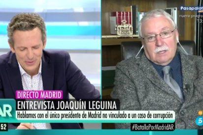 "Leguina lanza un escalofriante aviso en Telecinco a Cifuentes: ""Hay cosas peores que no han salido"""
