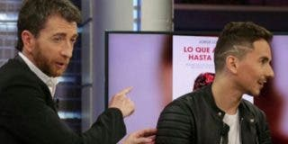 Jorge Lorenzo deja con el culo al aire a Pablo Motos
