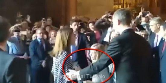 El vídeo oculto de la riña entre las reinas donde Letizia muestra su peor cara