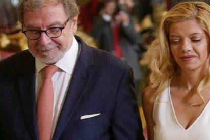 La novia rumana de Juan Luis Cebrián firmó el traje que Paquirrín lució el bautizo de su hija