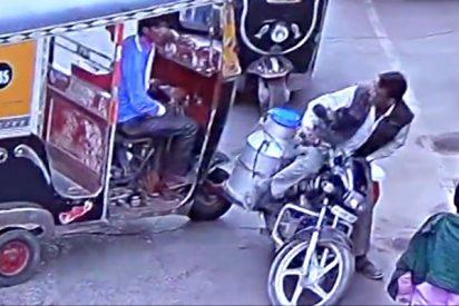 El lechero mata de un ladrillazo al taxista