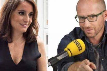 """Monumental cabreo de Andrea Levy con el periodista deportivo Jesús Gallego por llamarle """"Andreíta"""""""