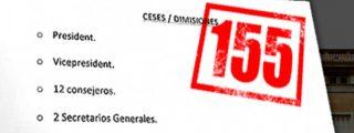 El vergonzoso listado de sueldazos de los altos cargos cesados por el 155