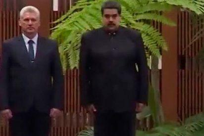 El dictador Maduro se reúne con el fidelista y continuista Miguel Díaz-Canel