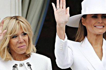 Los tristes e infructuosos intentos de Trump para que Melania le dé la mano