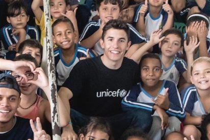 Marc Márquez apoya una iniciativa solidaria en Brasil junto a UNICEF