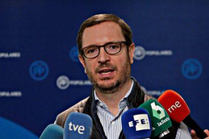 """El popular Maroto pide al PSOE """"cinco votos al azar"""" para sacar los Presupuestos"""