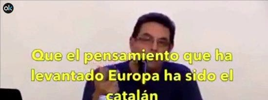 """La aterradora profecía de un matemático separata para los próximos 1.700 años: """"Europa será catalana"""""""