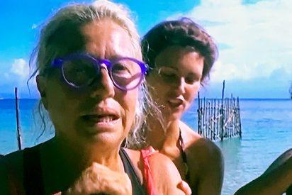 Mayte Zaldívar, segunda expulsada de 'Supervivientes 2018'