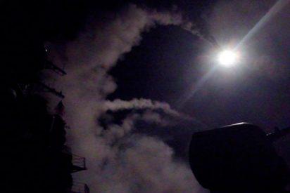Así repele un ataque con misiles en la provincia de Homs el sistema de defensa antiaérea de Siria