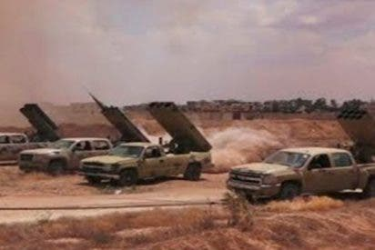 Así lanza el Ejército sirio misiles contra objetivos del Estado Islámico al sur de Damasco