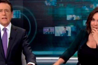 El nuevo chascarrillo de Matías Prats al 'salvar' el ataque de tos de Mónica Carrillo en directo