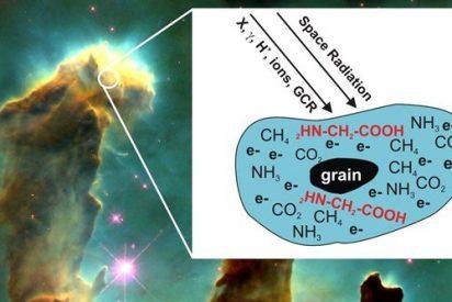 Molécula compleja esencial para la vida, creada en entorno astrofísico