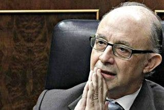 Al ministro Cristobal Montoro le toca ahora el Gordo de Navidad