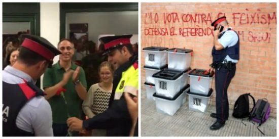 """Un informe de 800 páginas con los chivatazos de los Mossos el 1-O: """"Sigan a los policías"""""""